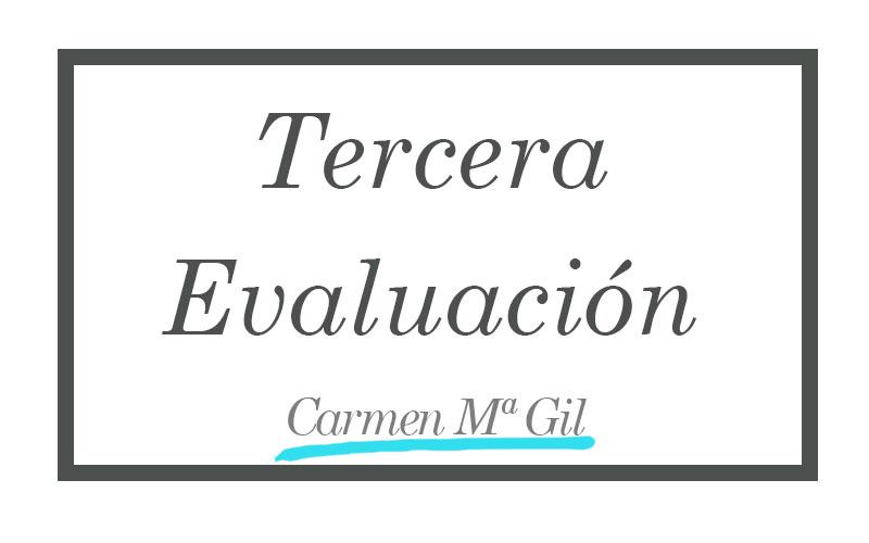 Tercera Evaluación
